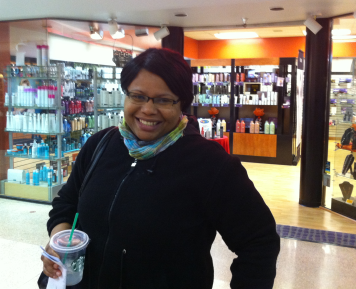 Carissa Brooks left Crossroads mall with a smile, after getting health coverage.