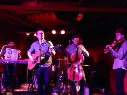 Seattle rock band Hey Marseilles performed at Chop Suey to show their support for Obamacare